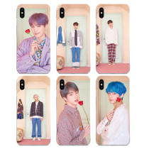 Kpop BTS Bangtan Boys Mobile Phone Case Cover for Apple iphone8 / 8P / X / XS Soft Shell