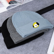 Kpop BTS Bangtan Boys Hat Korean New Knit Hat Wool Hat Wild Cold Warm Hat CHIMMY COOKY