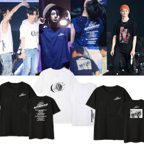 Kpop GOT7 T-shirt World Tour KEEP SPINNING same short-sleeved T-shirt Top
