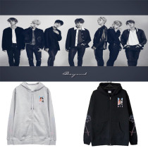 Kpop BTS Sweatshirt Bangtan Boys Same LOVE YOURSELF World Tour Zipper sweater Hoodie Jacket