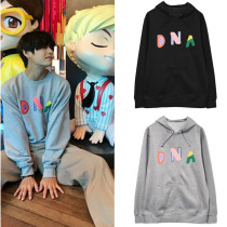 Kpop BTS Sweater Bangtan Boys DNA Hoodie Sweatshirt New Cute College Style Hoodie Jacket