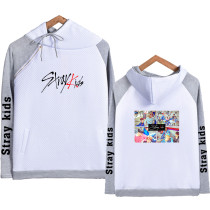 Kpop Stray kids Sweater HI-STAY Concert Same Hooded Sweater Four-color Hoodie
