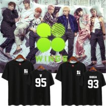 ALLKPOPER KPOP BTS Merchandise Wings J-hope Tshirt Unisex Bangtan Boys T-shirt Tee Cotton