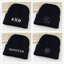 ALLKPOPER Kpop EXO EX'ACT Monster Lucky one Beanie Hat Knit Adjustable Cap