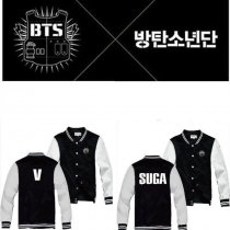 ALLKPOPER KPOP BTS Baseball Uniform Bangtan Boys In Bloom Varsity Jacket Coat Outwear