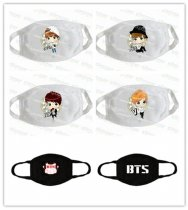 ALLKPOPER BTS Mouth Mask Kpop Jin SUGA J-Hope V Cartoon Muffle