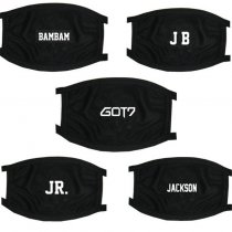 ALLKPOPER Kpop Got7 Mouth Mask Jackson Bambam JR JB Mark Face Respirator Muffle