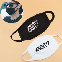 ALLKPOPER KPOP GOT7 Anti-Dust Mouth Face Cotton Unisex Mask Muffle Respirator Jackson Mark