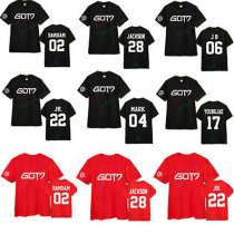 ALLKPOPER KPOP GOT7 Tshirt Bambam JB JR Mark Youngjae Jackson T-shirt Tee Fly Tops Cotton