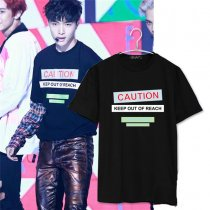 ALLKPOPER Kpop EXO Lay EX'ACT LUCKY ONE T-SHIRT TEE TSHIRT MONSTER Chanyeol Baekhyun Kai