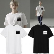 ALLKPOPER Kpop EXO Baekhyun Tshirt New Tops Short Sleeve Clothes Unisex Cotton T-shirt