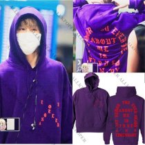 ALLKPOPER Kpop GOT7 Cap Hoodie Mark Airport Purple Sweater Sweatershirt Coat Pullover