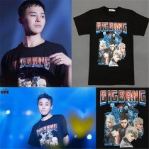 ALLKPOPER Kpop Bigbang T-shirt MADE Unisex FINAL IN SEOUL TEE GD Tshirt G-Dragon Cotton