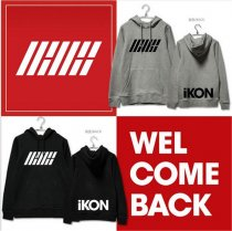 ALLKPOPER KPOP IKON Showtime Cap Hoodie Sweater Unisex JINHWAN Coat Sweatershirt Jacket