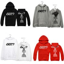 ALLKPOPER Kpop GOT7 Cap Sweater Unisex Hoodie Jackson Mark Sweatershirt JB Outwear Fly IN US