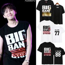 KPOP Bigbang Made Tshirt 10th Anniversary T-shirt Unisex GD G-Dragon Tee Tops