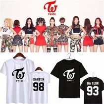 ALLKPOPER Kpop TWICE T-Shirt The Story Begins Tshirt PAGE TWO MOMO Sana DAHYUN TEE Tops