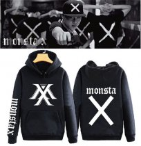 ALLKPOPER Kpop MONSTA X 1st Mini Album TRESPASS Cap Hoodie Sweater