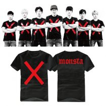 ALLKPOPER Kpop MONSTA X THE CLAN PART.2 GUILTY Tshirt HYUNGWO I.M Unisex Tee T-shirt