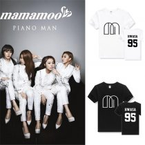 ALLKPOPER Kpop MAMAMOO T-shirt Unisex Whee In Tshirt Cotton Tee Concert New Solar