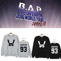 ALLKPOPER KPOP BAP Sweater B.A.P 2016 WORLD TOUR Sweatershirt Himchan Zelo New
