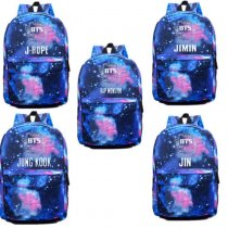 ALLKPOPER KPOP BTS Starry Sky Satchel Schoolbag Backpack Bangtan Boys Student Book Bag Jin
