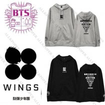ALLKPOPER Kpop BTS WINGS Cap Hoodie Sweater Unisex Bangtan Boys J-Hope Sweatershirt Jimin