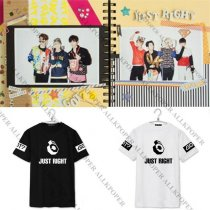 ALLKPOPER KPOP Merchandise GOT7 Fly Tshirt Just Right Mark Jackson Bambam T-shirt Tee Tops