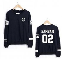 KPOP GOT7 Sweater Jackson Pullover Unisex Hoodie Jumper BAMBAM JB JR Mark