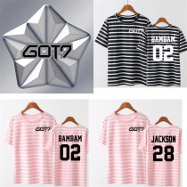 ALLKPOPER KPOP GOT7 FLIGHT LOG:TURBULENCE Tshirt 2rd New Tee Bambam Mark Jackson JB JR