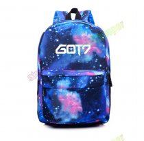 ALLKPOPER KPOP GOT7 SchoolbagStarry Sky Backpack Satchel