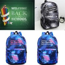 ALLKPOPER Kpop Blackpink Backpack Schoolbag Book Bag Satchel JISOO Rosé LISA