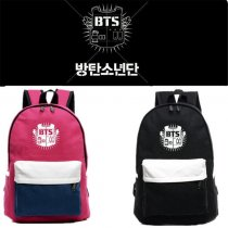 ALLKPOPER BTS Backpack KPOP Bangtan Boys Back to School bag Satchel Student Bookbag V SUGA