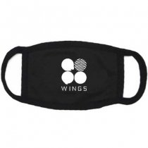 ALLKPOPER BTS WINGS Mask Bangtan Boys Cotton Jimin Jungkook Winter Mouth Face Muffle