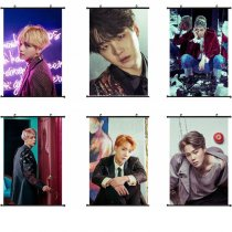 ALLKPOPER Kpop BTS WINGS Wall Hanging Poster Bangtan Boys Wallpaper Photo JUNG KOOK JIN V