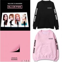 ALLKPOPER Kpop Blackpink SQUARE TWO Sweater Unisex Hoodie Sweatershirt Hoodie Pullover