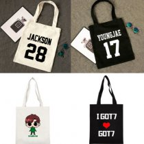 ALLKPOPER KPOP GOT7 Handbag Fly Concert Bookbag Jackson Shoulderbag JB Bag Mark School Bag