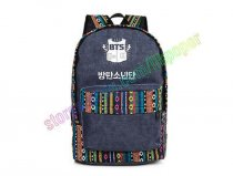 ALLKPOPER KPOP BTS Backpack Bangtan Boys SUGA JIMIN JIN RAP MONSTER JUNGKOOK Cavas Schoolbag National Bag Satchel