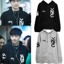 ALLKPOPER Kpop EXO Lay Cap Hoodie Airport Fashion Sweater Unisex Sweatershirt Pullover