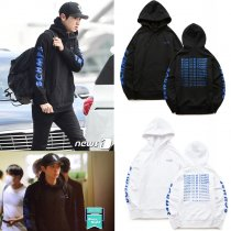 ALLKPOPER Kpop EXO Cap Hoodie Chanyeol Airport Sweatershirt Comming Over Sweater Pullover