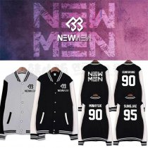 ALLKPOPER Kpop BTOB NEW MEN Baseball Uniform Unisex MINHYUK Varsity Jacket HYUNSIK Coat