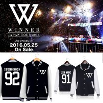 ALLKPOPER Kpop Winner Baseball Uniform Coat Unisex Jacket Outwear SEUNGYOON JINWOO MINHO