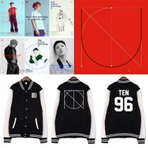 ALLKPOPER Kpop NCT U Baseball Uniform Mark Teaser Jacket Coat Outwear Unisex Taeil Jaehyun