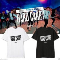 ALLKPOPER KPOP GOT7 Hard Carry T-shirt FLIGHT LOG:TURBULENCE Unisex Jackson Tshirt Cotton