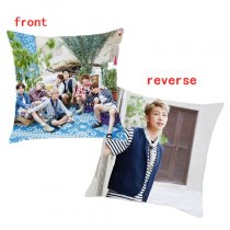 ALLKPOPER Kpop BTS Throw Pillow Case IN DUBAI Bangtan Boys Summer Package Cushion Bolster