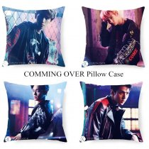 ALLKPOPER Kpop EXO Throw Pillow Case [COMING OVER] Square Cushion Bolster Cover Baekhyun
