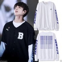 ALLKPOPER KPOP BTS Jung Kook Sweater Airport Fashion Sweatershirt Bangtan Boys ARMY.ZIP+