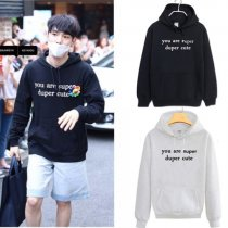 ALLKPOPER Kpop Shinee KEY Unisex Cap Hoodie Sweatershirt Pullover Sweater Coat Outwear
