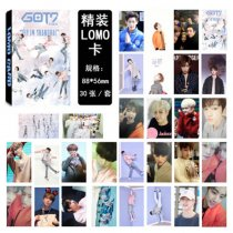 ALLKPOPER Kpop GOT7 LOMO CARD Postcard FLIGHT LOG TURBULENCE Photocard  Free shipping