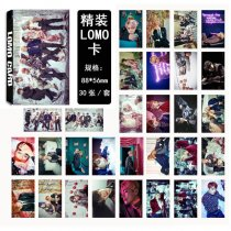ALLKPOPER 30pcs BTS WINGS Photo Poster Jimin Bangtan Boys Lomo Cards Jung Kook Jin V Free shipping